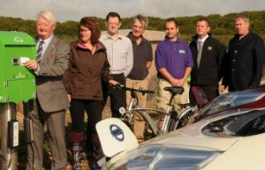 Weymouth launch of GreenMotion charging stations